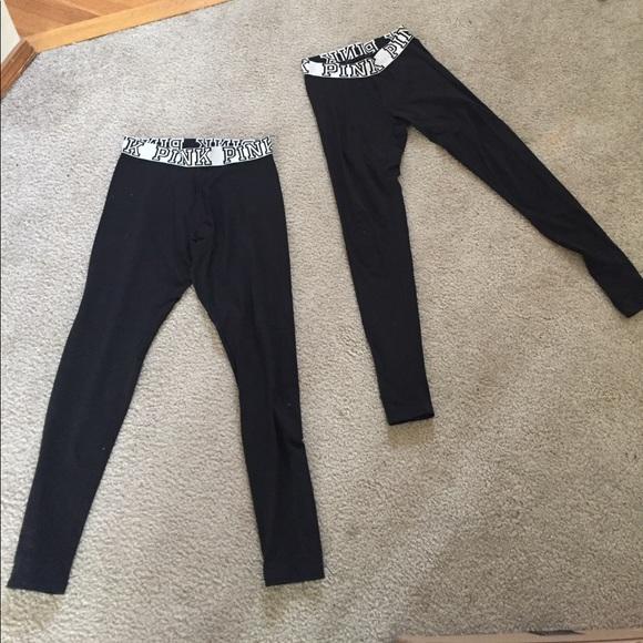 PINK Victoria's Secret Pants - pink leggings XS, M sold